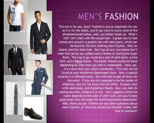 Kate Men's Fashion