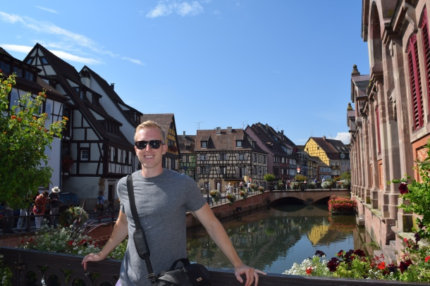 Colmar, the first village on the tour
