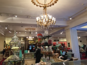 The prettiest store I've ever visited: Fortnum and Mason