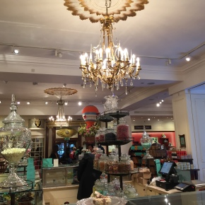 The prettiest store I've ever visited: Fortnum andMason